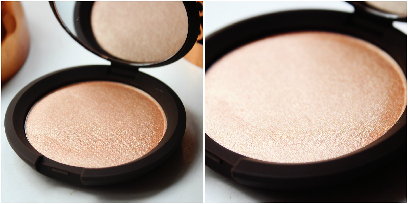 Champagne Pop shimmering skin perfector presses review