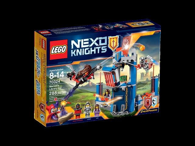 LEGO Nexo Knights 70324 - Merlok's Library 2.0