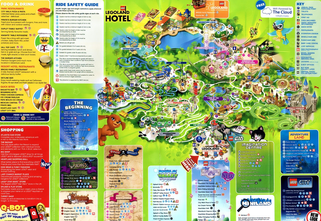 Legoland Windsor 2015 Park Map Legoland Windsor 2015 Park Flickr