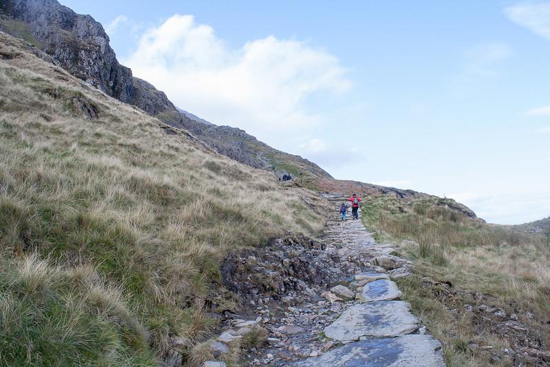 Pyg track Mount Snowdon