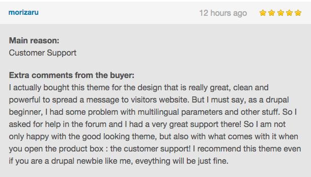 Jarvis onepage drupal theme