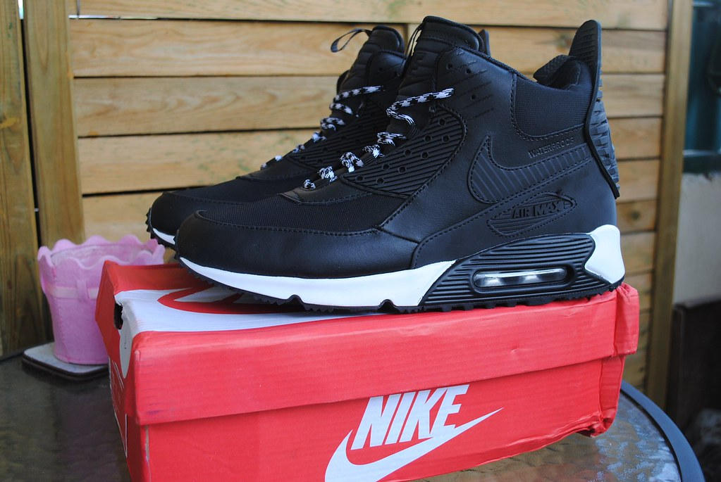 cheap for discount 343bd f3ccb ... Nike Air Max 90 Winter sneakerboot Czarne 684714-002 DSC0171 .
