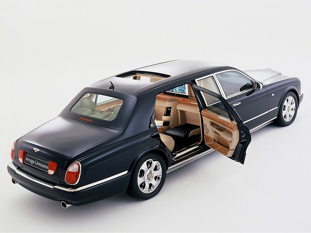 Bentley Arnage Limousine 2003 года