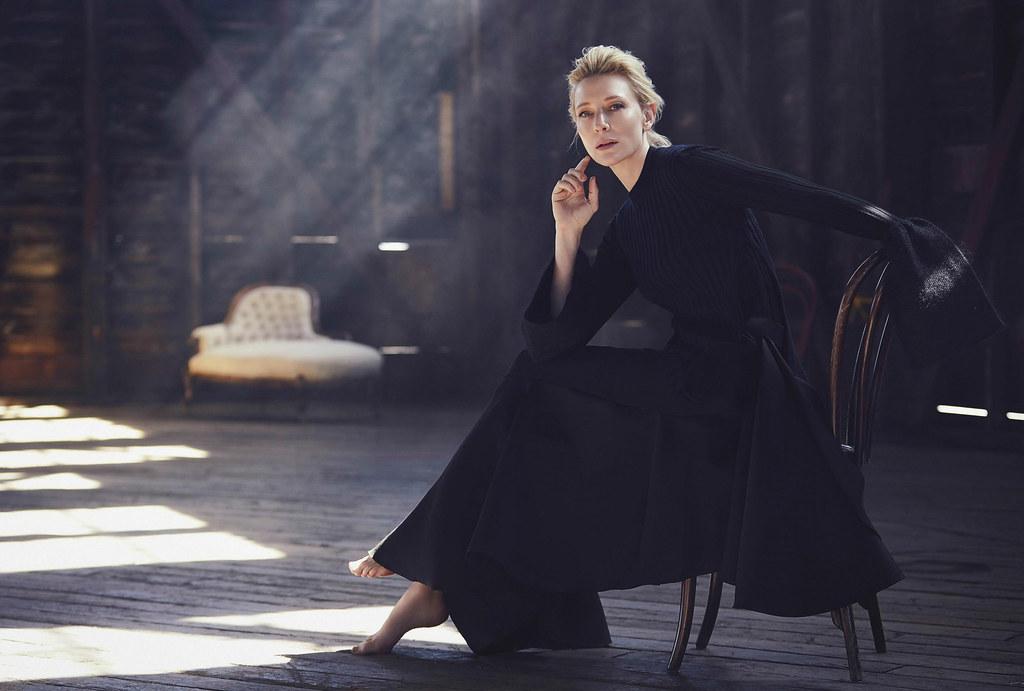 Кейт Бланшетт — Фотосессия для «Vogue» AU 2015 – 5