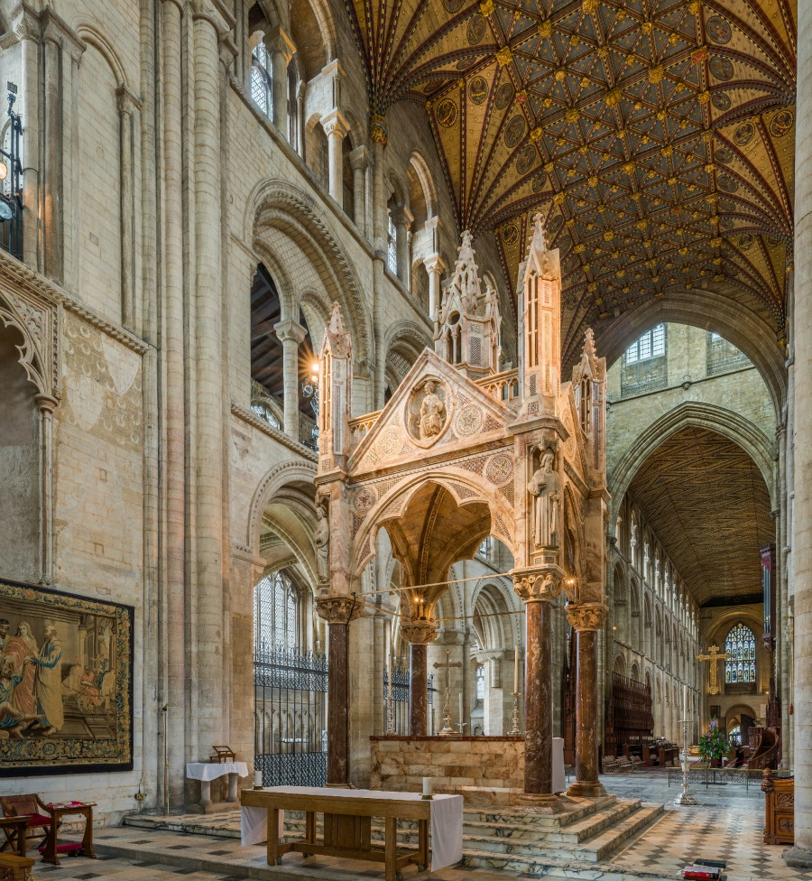 Peterborough Cathedral - The High Altar