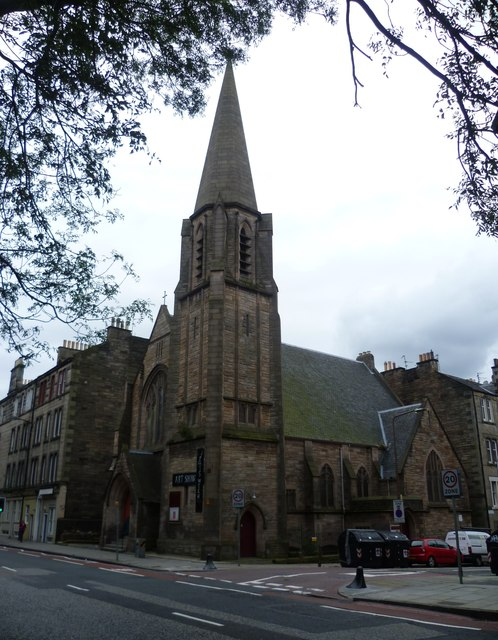 St Martin of  Tours episcopal church, Edinburgh (c) Kim Traynor