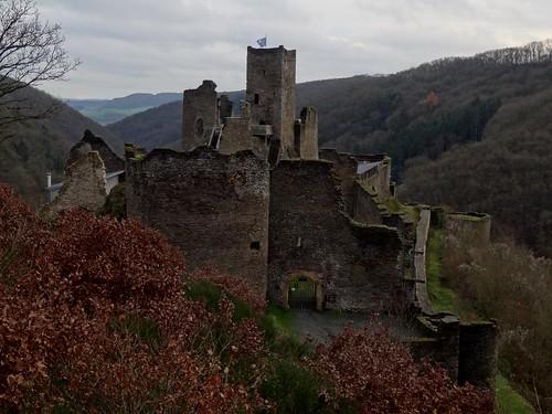 Brandenbourg castle ruin