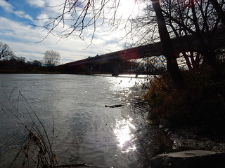 Riverside Cache - a view of the river 1