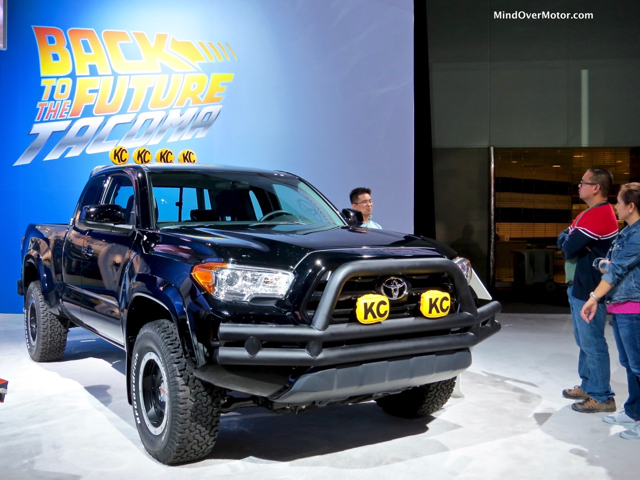 Back to the Future Tacoma SR5 Front Right
