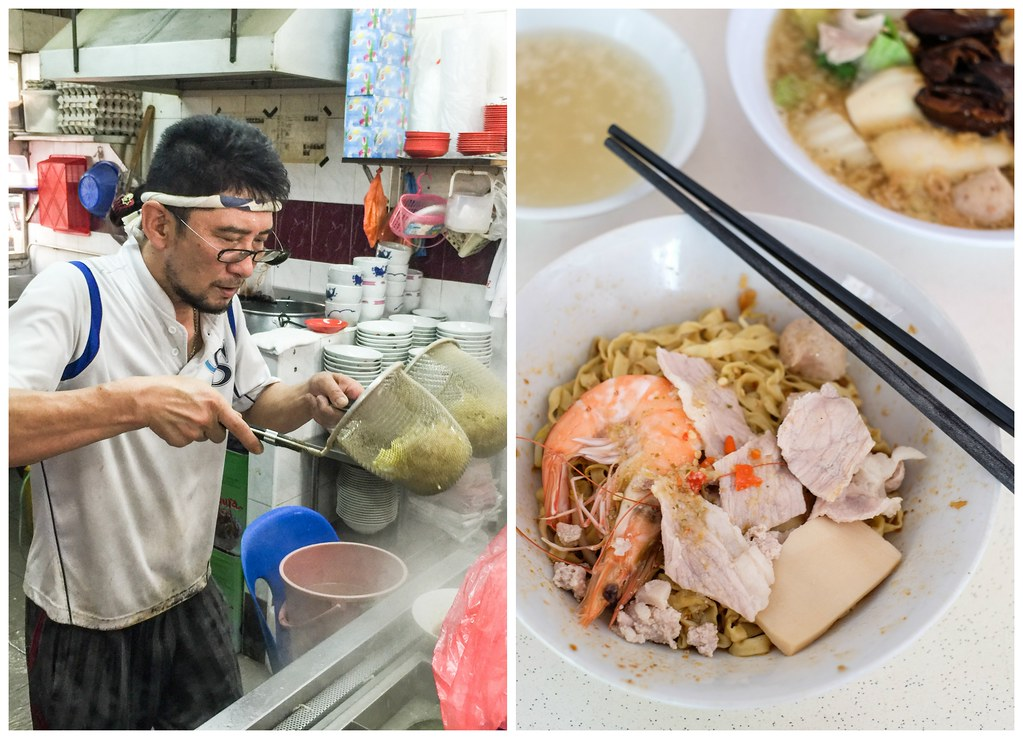 Cheap Places to Eat in Singapore: Ah Hoe Mee Pok
