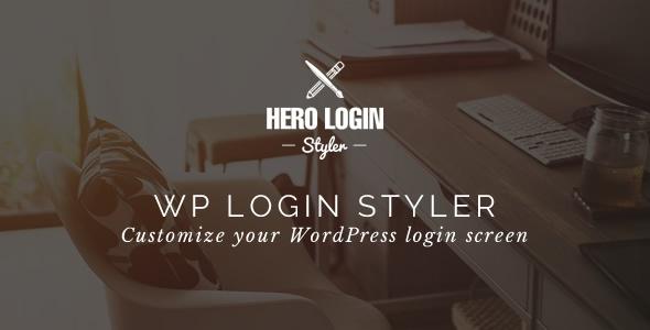 Hero Login Styler v1.3.0 – WP Login Screen Customizer