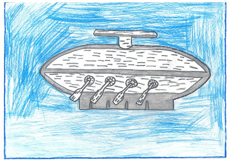 Унікальний козацький човен Чайка