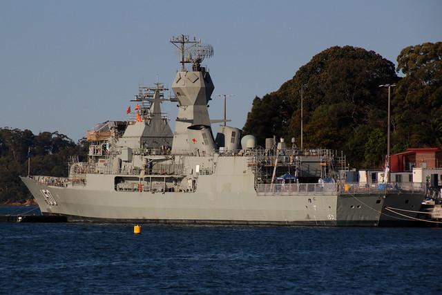 HMAS Anzac (FFH 150) Royal Australian Navy