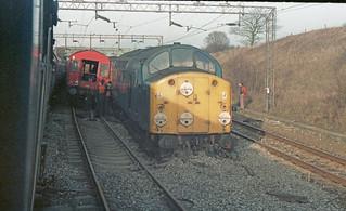 40091 Weaver Junction 29th December 1983.