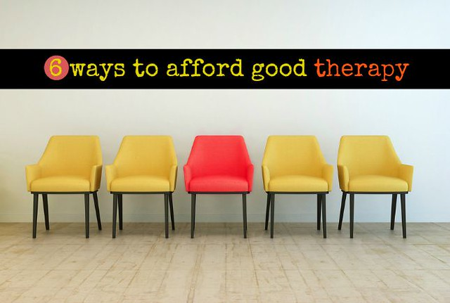 Yes, you can afford therapy (if you know where to look)