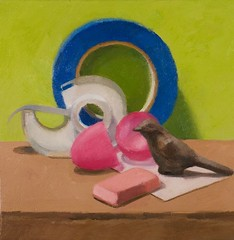 still life with painter's tape: julie mahoney