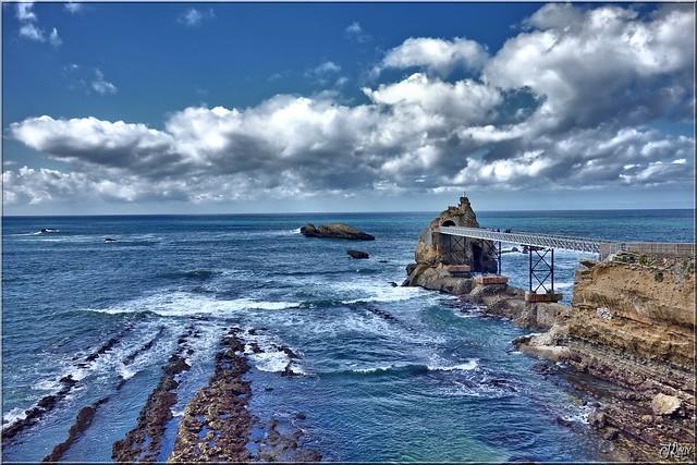 The ocean- Biarritz-France