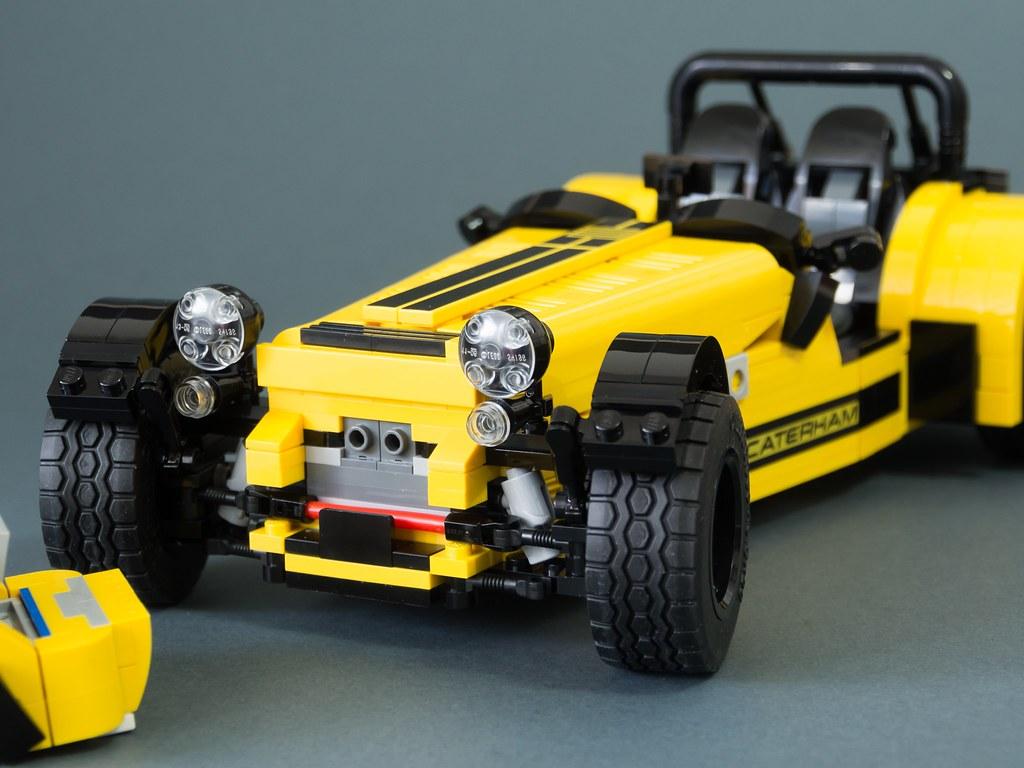 LEGO Set 21307 Caterham Seven 620R MOD 16+