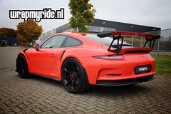 Porsche #911 991 gt3rs paint protection