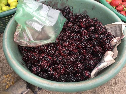 グアテマラの野菜・果物
