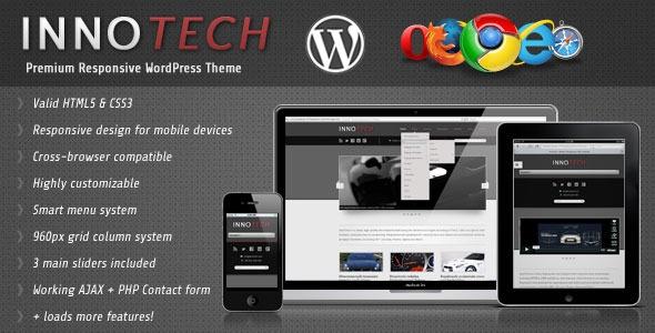 InnoTech v1.1 - Premium Responsive WordPress Theme