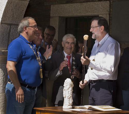 Mariano Rajoy es nombrado Caballero de la Real Orden Serenísima de la Alquitara