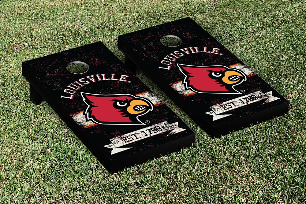 Louisville Cardinals Banner Vintage Version