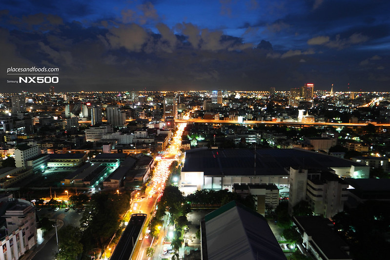 siam siam rooftop view traffic