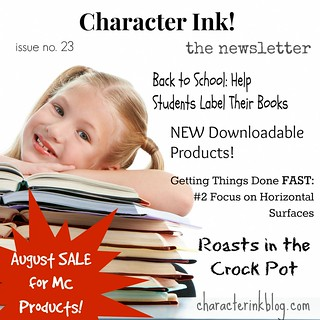 Character Ink! Newsletter No. 23