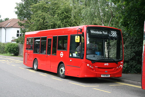 Uno 601 on Route 383, Barnet Spires