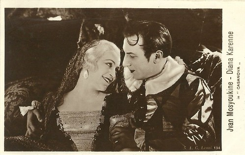 Diana Karenne and Ivan Mozzhukhin in Casanova