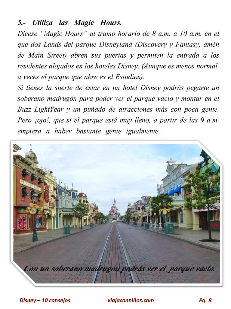 10 consejos Disney saturado