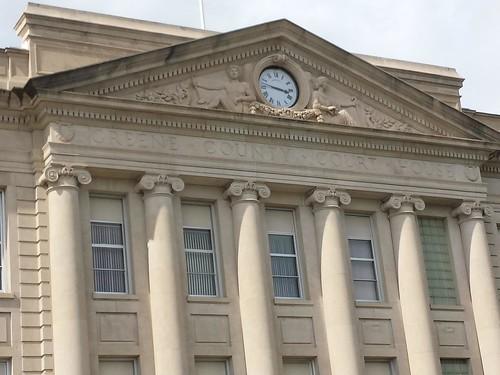 clock iowa courthouse jefferson us30 courthouses greenecounty lincolnhighway countycourthouse nationalregister nationalregisterofhistoricplaces uscciagreene