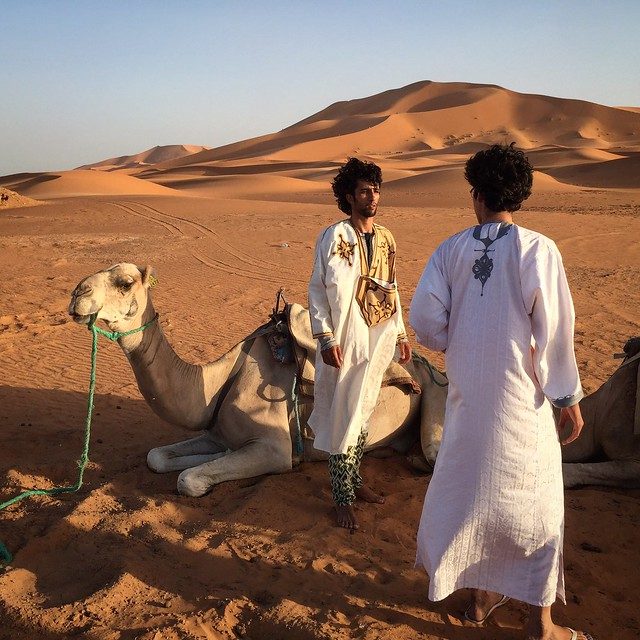Our guides in the Sahara