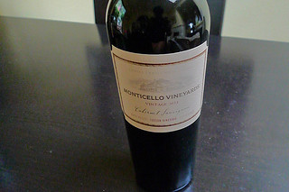 Monticello Vineyards - Cabernet Sauvignon 2011 Tietjen Vineyard