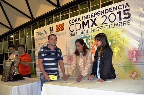 Copa Independencia 2015 - Premiación