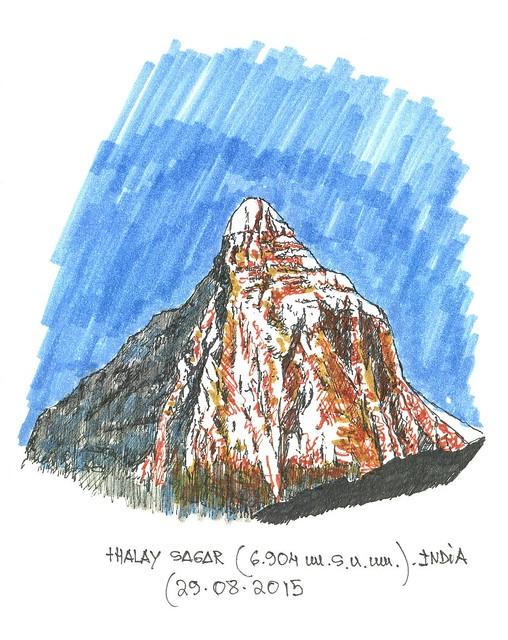 Thalay Sagar (6.904 m.s.n.m.)