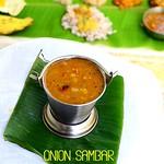 Kerala Ulli Sambar Recipe