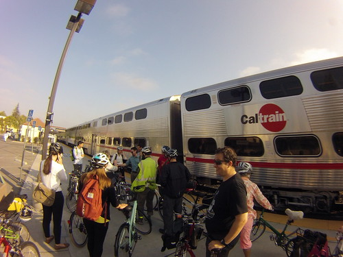 Bike Pool - Caltrain to the Bike Summit