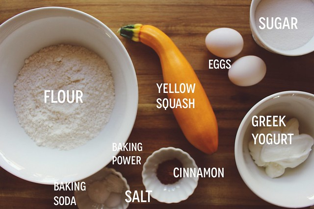 greek yogurt 52 ways: # 24 yellow squash bread