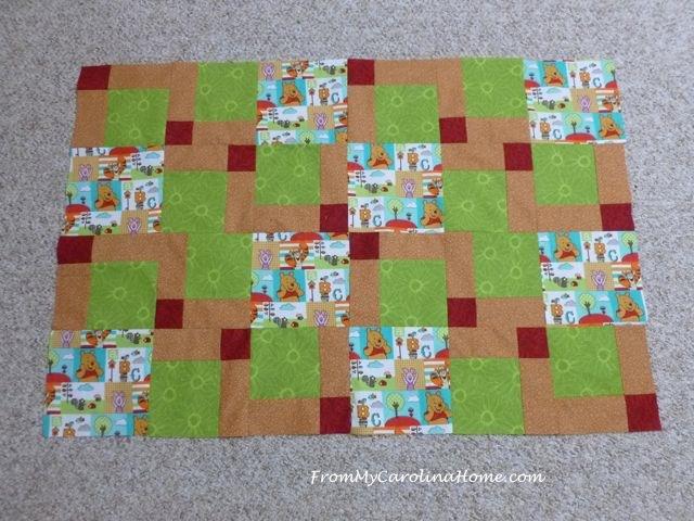 Pooh Stacked Bricks - 9