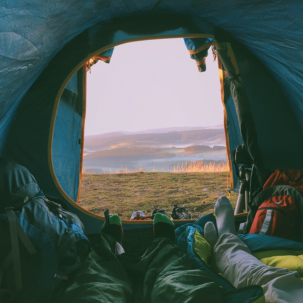 What a view to wake up to.