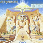 "IRON MAIDEN POWERSLAVE EEC NWOBHM GATEFOLD 12"" LP"