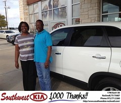 #HappyBirthday to Lula & George from Kathy Parks at Southwest KIA Rockwall!