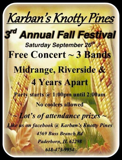 Karban's Fall Festival 9-26-15