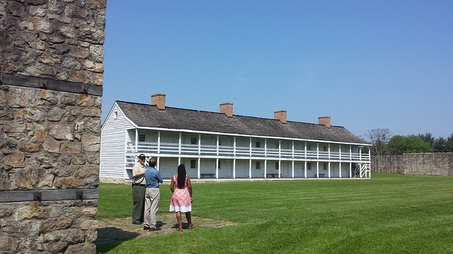 Fort Frederick, barracks