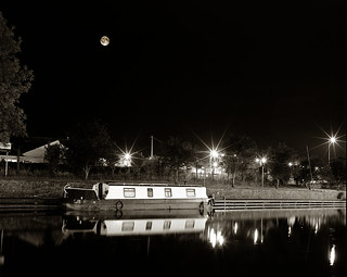 A recent full moon over Kilcock in Co Kildare. Hassie 60mm and 150mm lens on Fuji Acros 100 development in Rodinal.