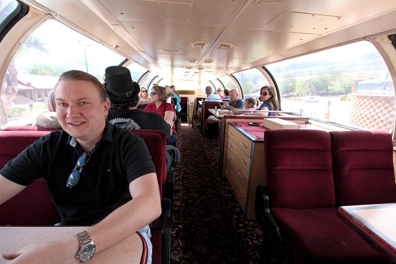Royal Gorge Route Dining Car