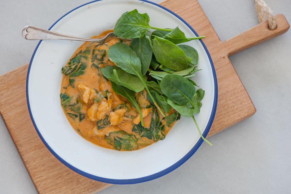m2. chicken satay curry