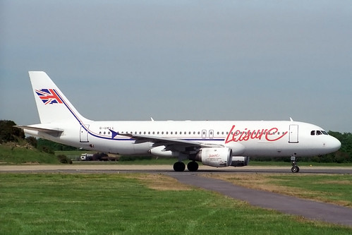 G-UKLL Airbus A.320-212 Leisure International Airways